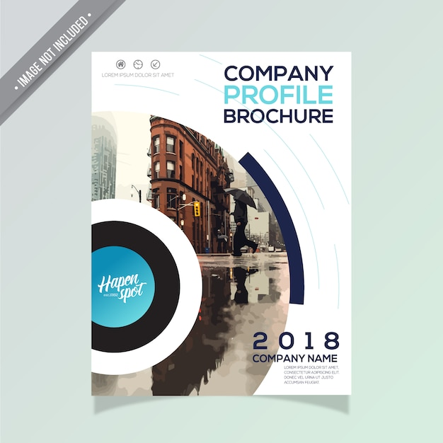 Modern Business Brochure Design Vector  Free Download