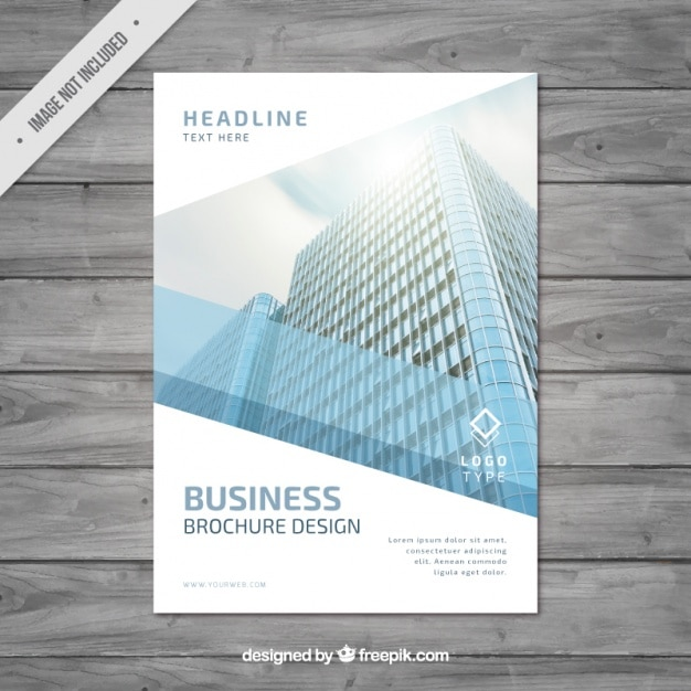 Modern Business Brochure Design Vector | Free Download