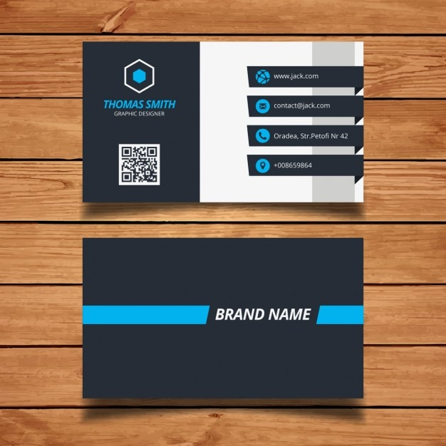 Simple Design Name Card Vectors, Photos and PSD files | Free Download