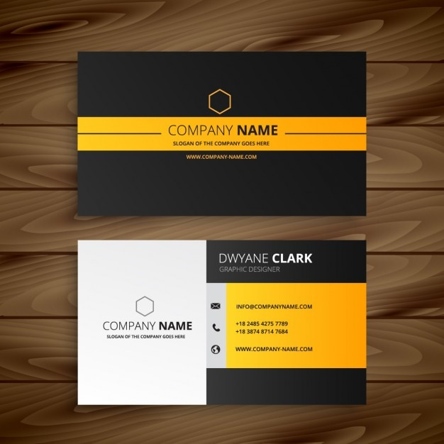 Download vector modern business card template vectorpicker modern business card template accmission Gallery