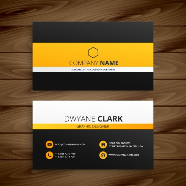 Modern business card template vector free download for Free modern business card templates