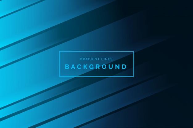 Modern business gradient background Free Vector