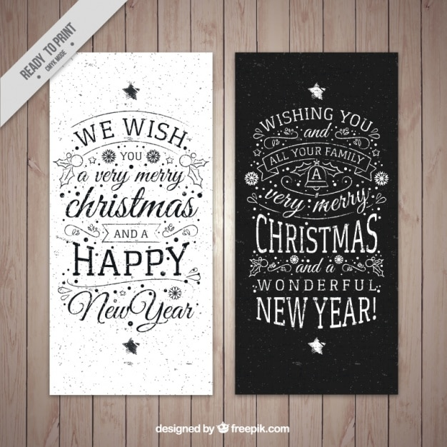 Modern christmas card pack vector free download modern christmas card pack free vector m4hsunfo