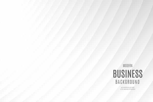Modello di sfondo moderno business pulito Vettore gratuito