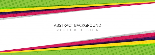 Modern colorful background Free Vector