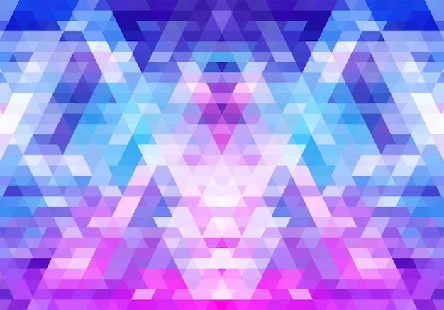 Современные красочные геометрические фигуры Бесплатные векторы