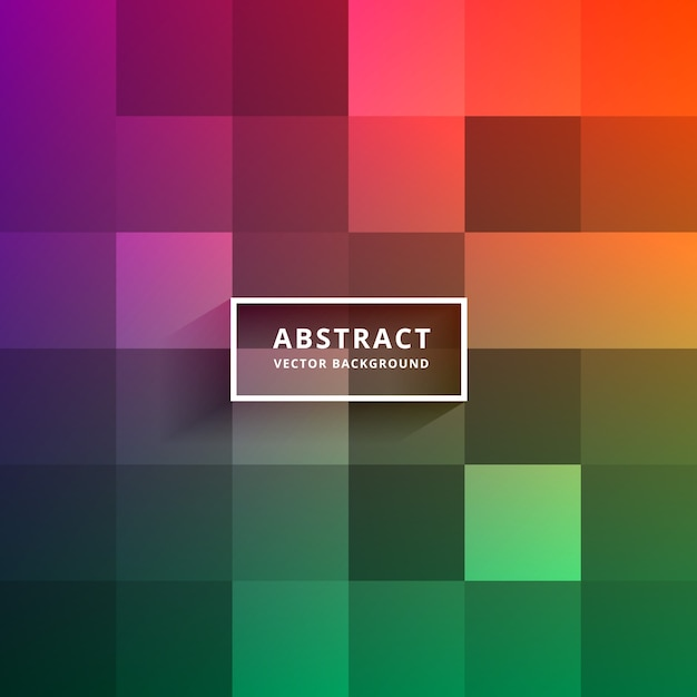 Modern colorful tiles background