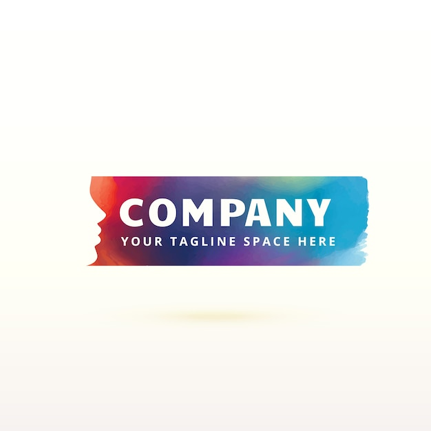 Modern company logo concept
