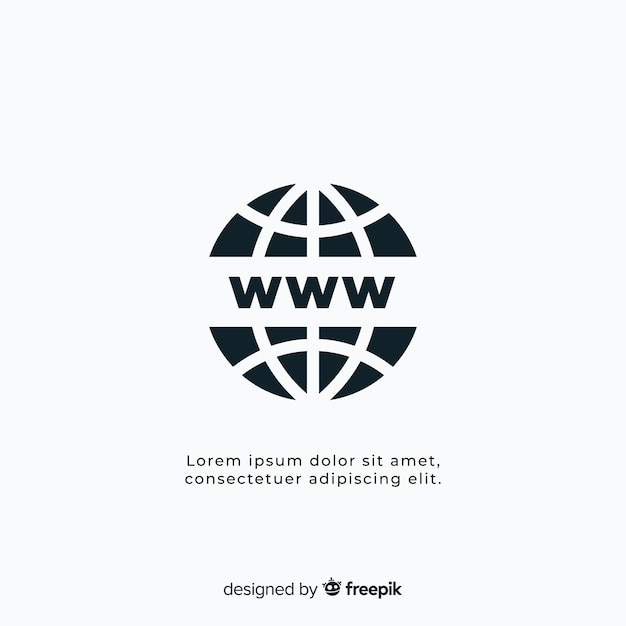 Modern conectivity logo template Free Vector