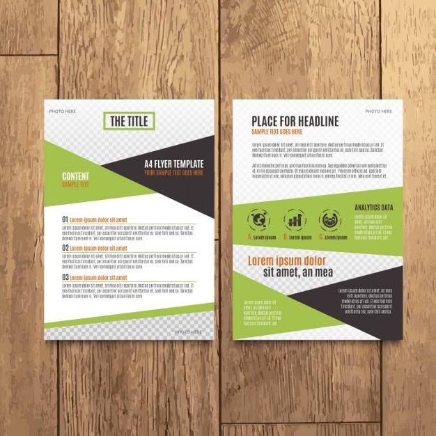 Modern Corporate Brochure Design Vector  Free Download
