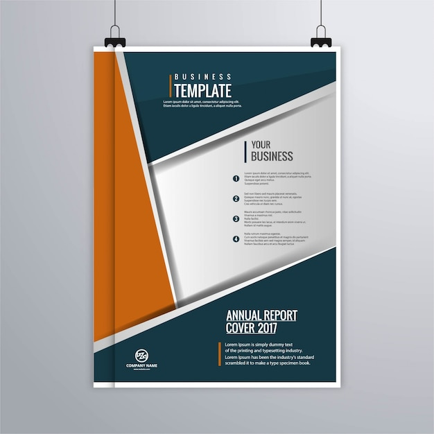 Modern Corporate Brochure Template Vector | Free Download