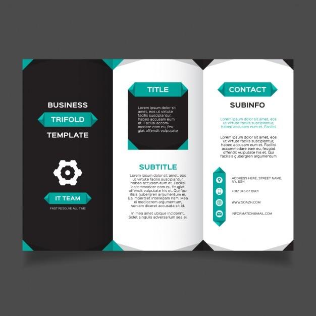 free corporate brochure pdf template