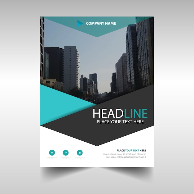 corporate brochure template free - modern corporate brochure template vector free download