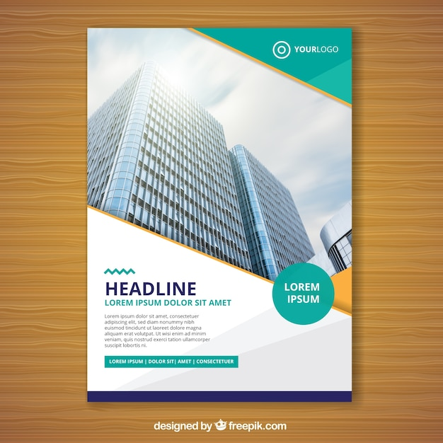 Modern corporate brochure