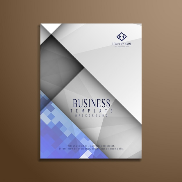 Modern corporate business brochure design