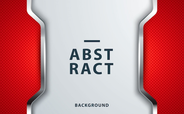 Modern corporate red abstract background Premium Vector