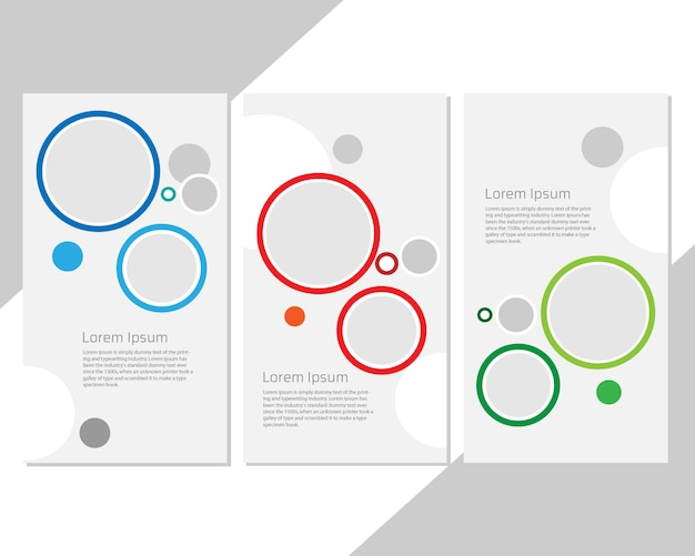 Template set for circles