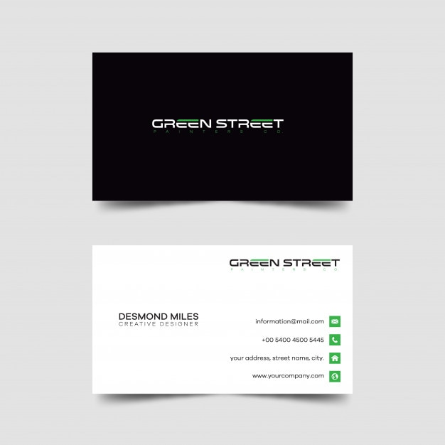 Modern creative and clean business card template vector premium modern creative and clean business card template premium vector colourmoves