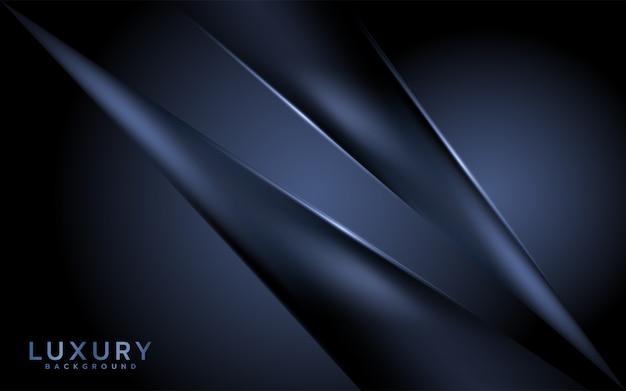 Modern dark abstract background. Premium Vector
