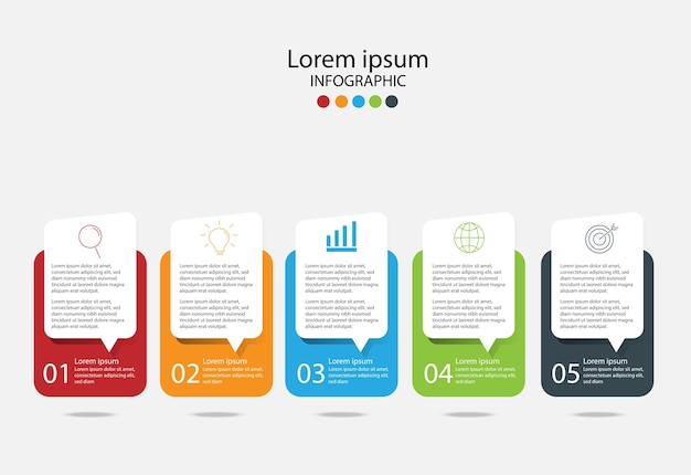 Modern design elements for business. Vector | Premium Download