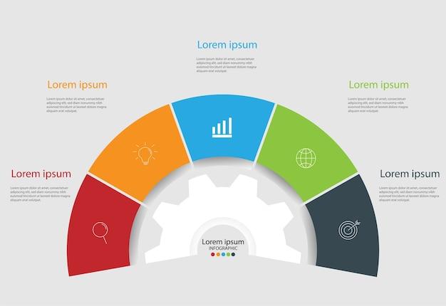 Modern design elements for business. Vector   Premium Download