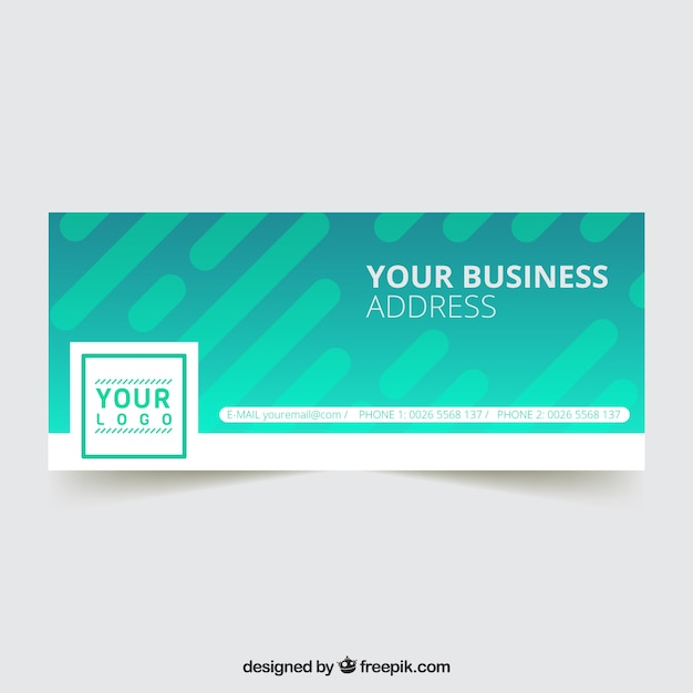 Modern facebook business cover
