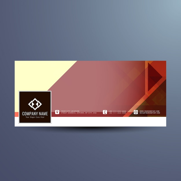 Modern facebook cover design
