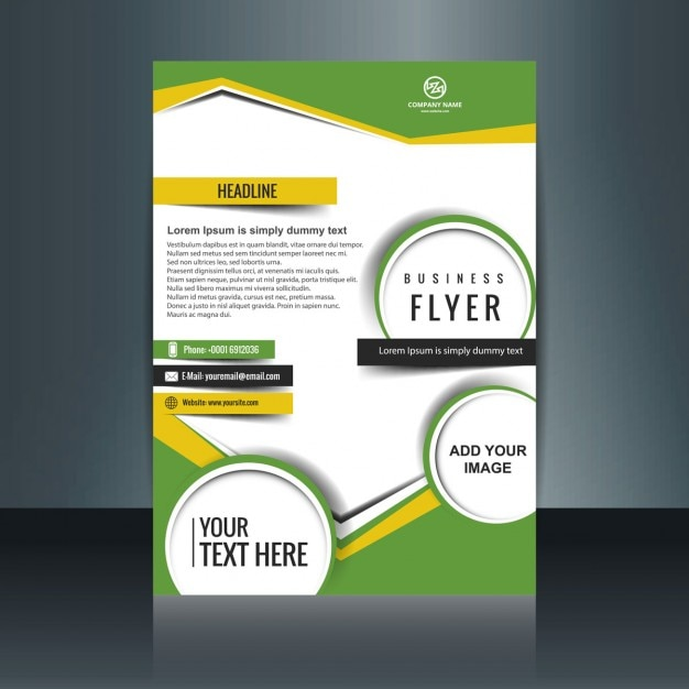cover letter examples it modern flyer design with geometric shapes vector free 21039