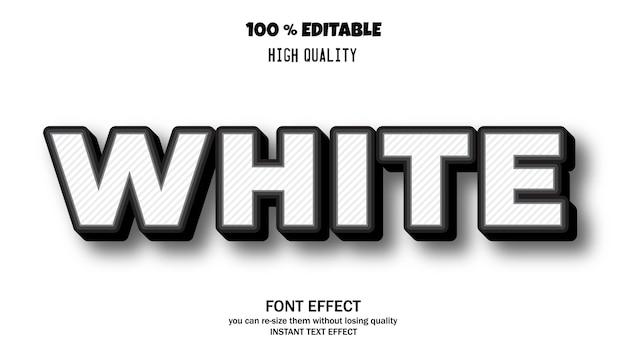 배너 또는 스티커, 편집 가능한 글꼴에 대한 최신 글꼴 효과 프리미엄 벡터