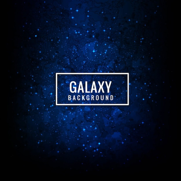 Modern galaxy background Free Vector