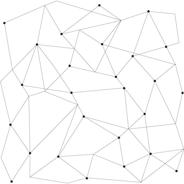 Modello moderno senza giunte geometrico scandinavo Vettore gratuito