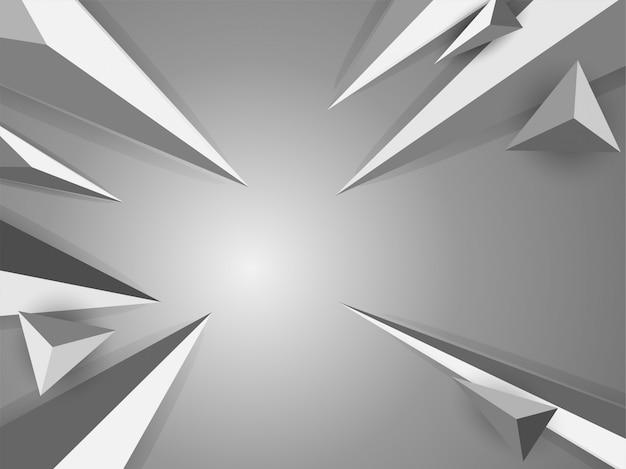 Modern geometric background. Premium Vector