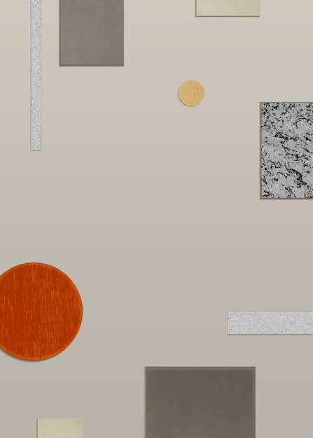 Modern geometric background Free Vector