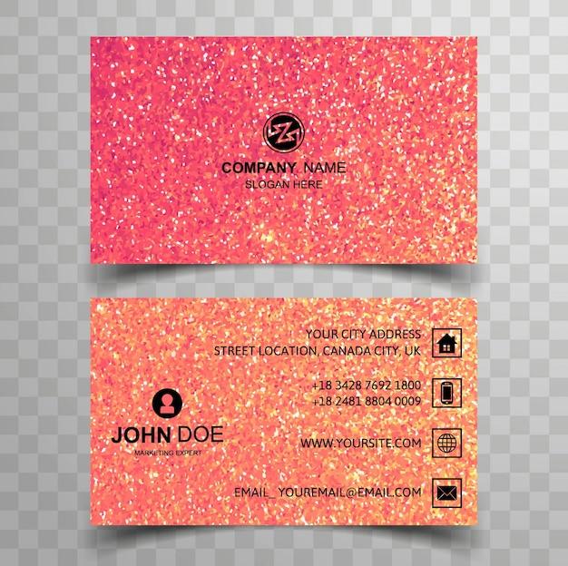Modern glitter business card vector premium download modern glitter business card premium vector reheart Choice Image