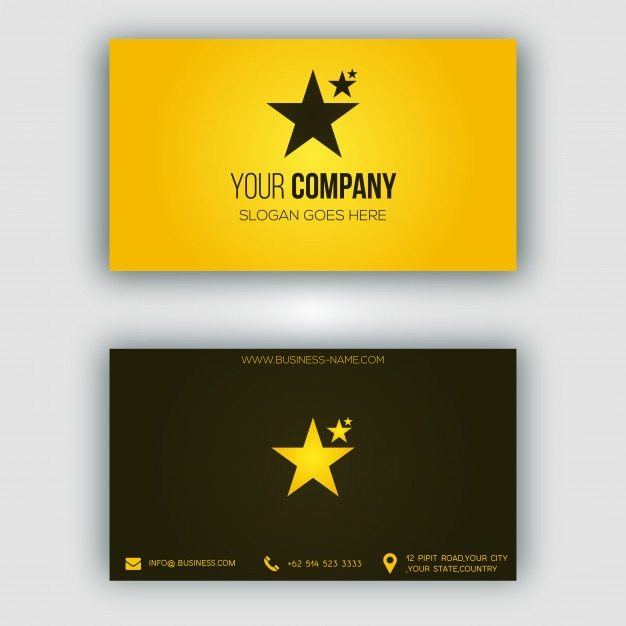 Modern gold business card vector premium download modern gold business card premium vector reheart Choice Image