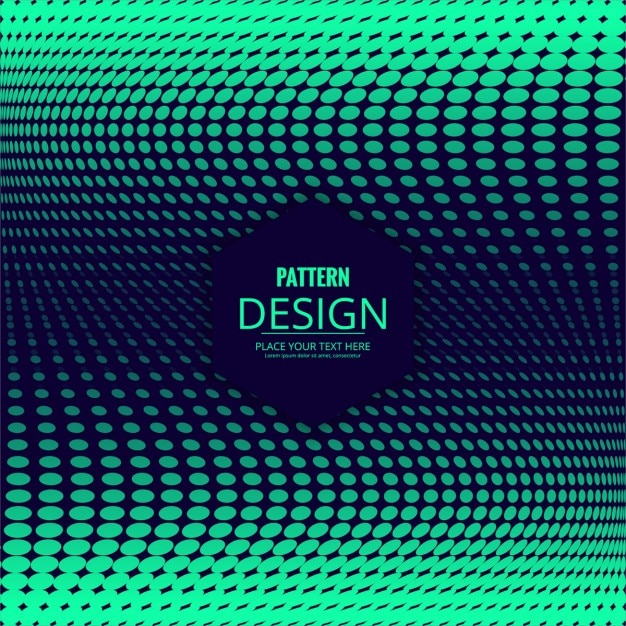 Modern green background with halftone dots