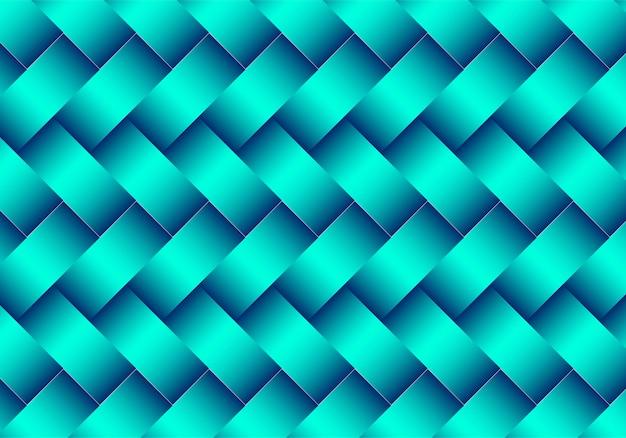 현대 녹색 기하학적 패턴 디자인 무료 벡터
