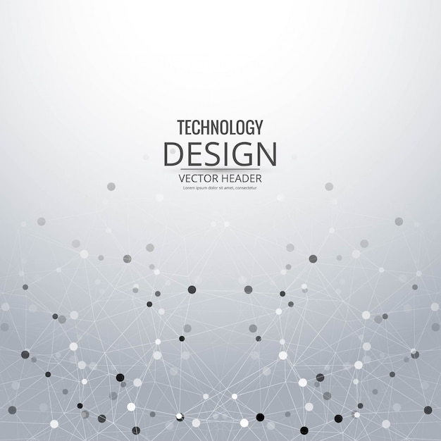 Modern grey technology background
