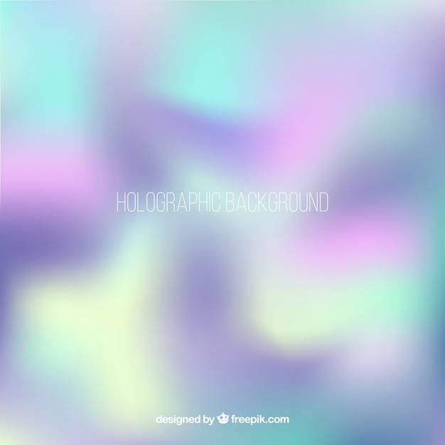 Modern holographic background