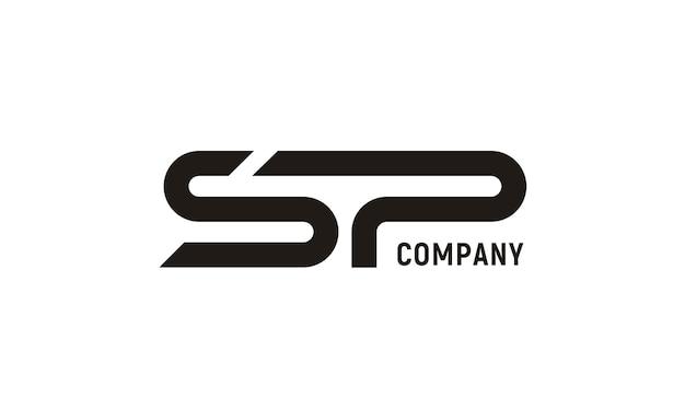 modern initial sp logo vector premium download