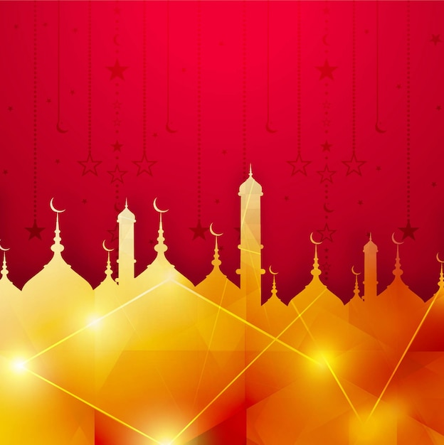 free vector modern islamic background free vector modern islamic background