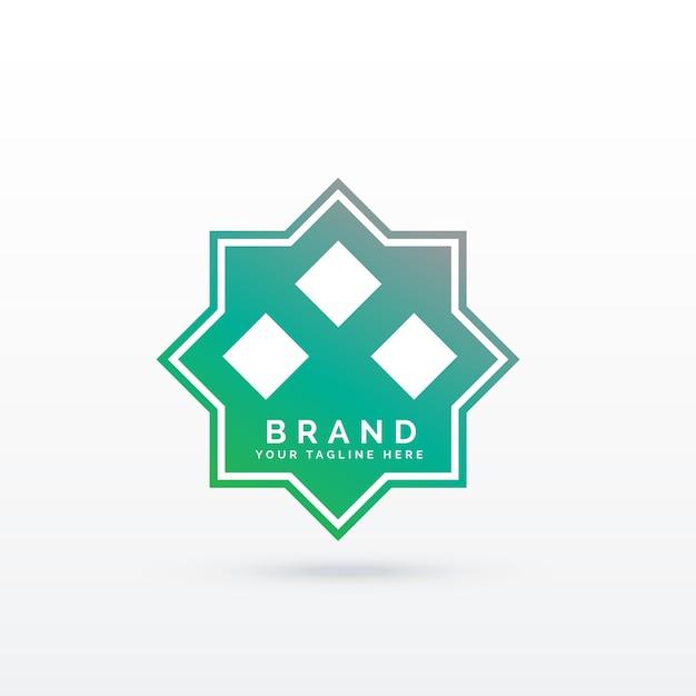 modern islamic logo concept vector premium download rh freepik com islamic logo and symbols islamic logo maker