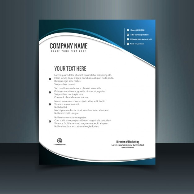letterhead template modern teacheng us