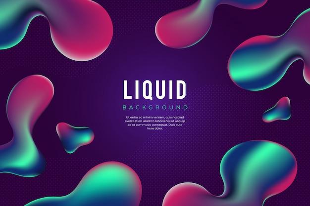 Free Vector Modern Liquid Background