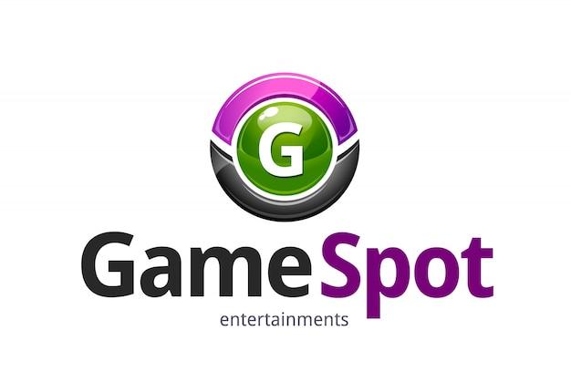 Modern logotype with circle
