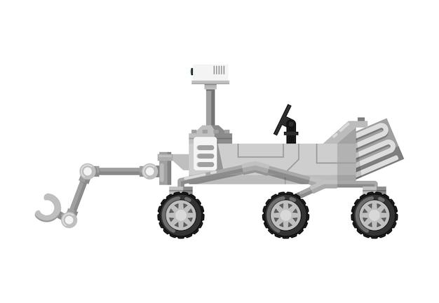 現代の火星探査車分離アイコン Premiumベクター