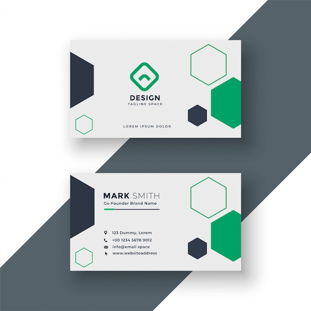 Modern medical doctor business card Free Vector