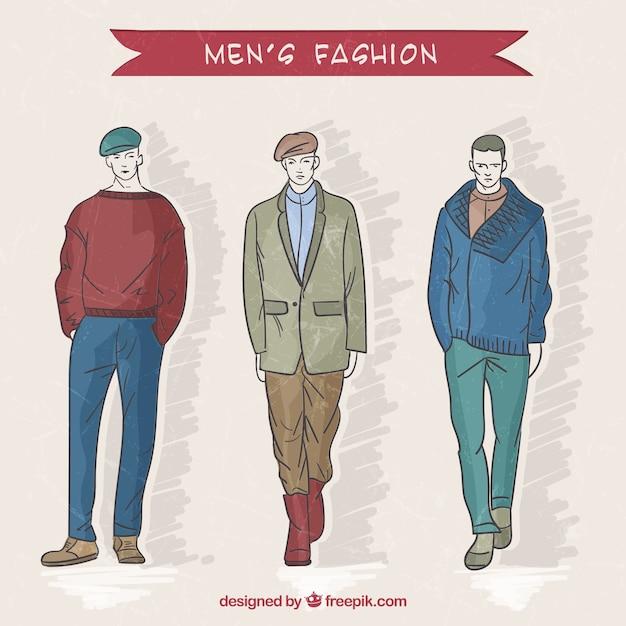 Modern men's fashion