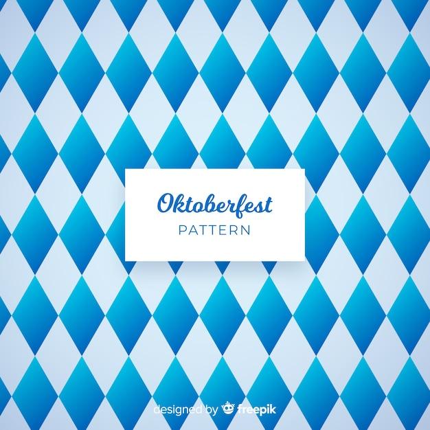 Modern oktoberfest pattern Free Vector