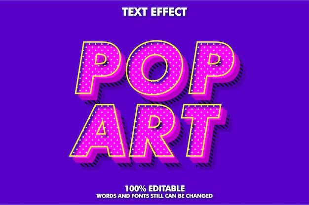 Modern old retro text font effect Premium Vector